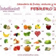 calendario saludable de febrero